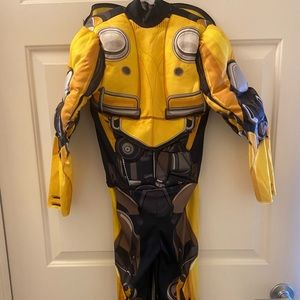 Gently used transformers bumble bee costume